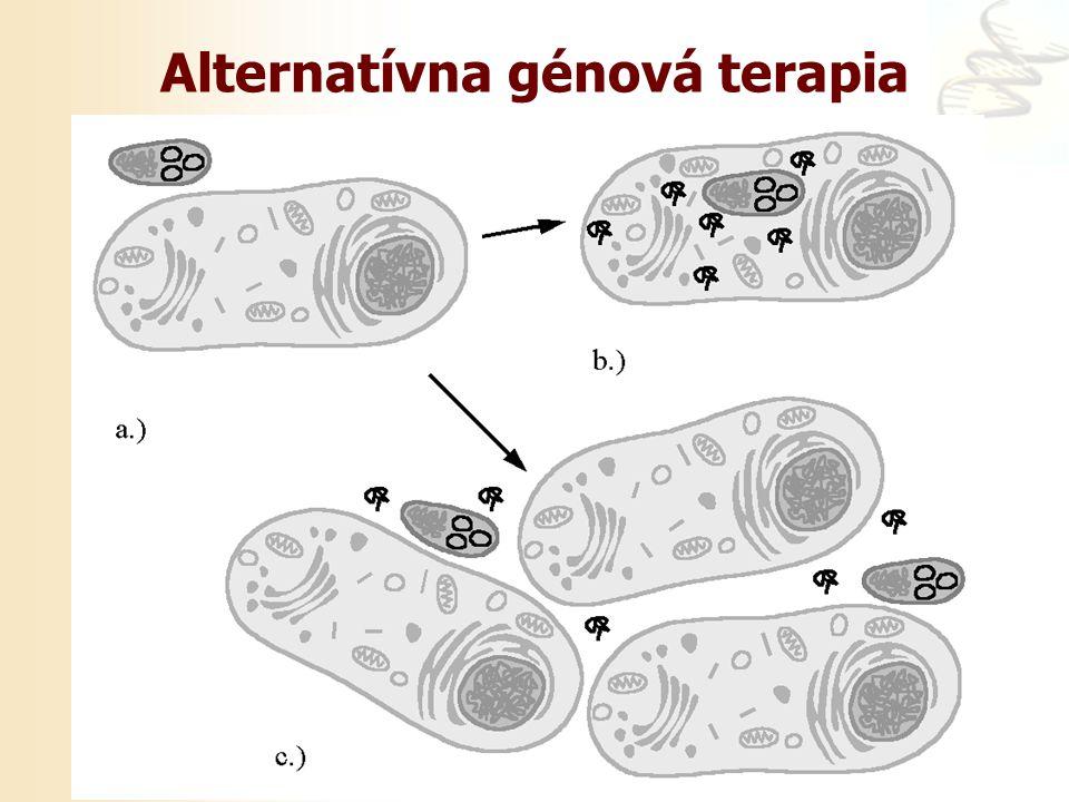 Alternatívna génová terapia