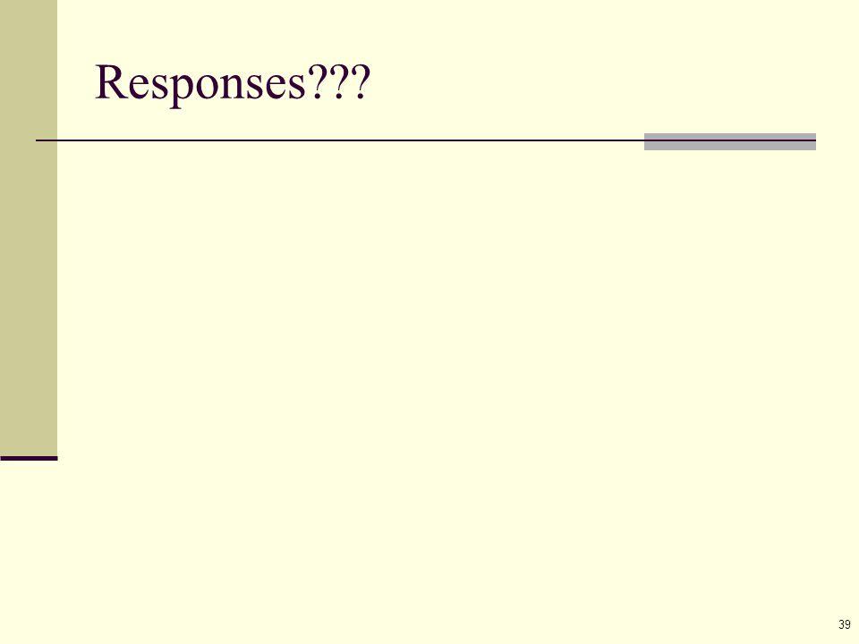 39 Responses