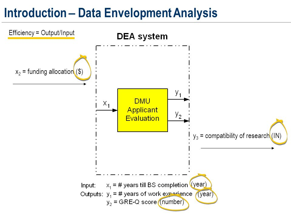 Simplified schematic diagram of the application evaluation and decision making process