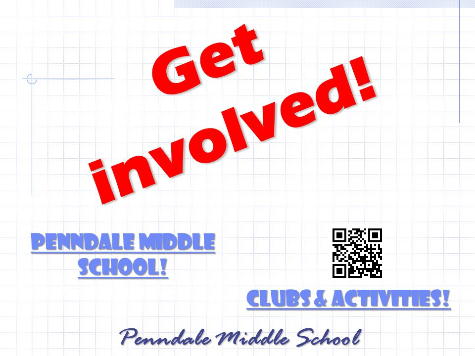 Get involved. Penndale Middle School. Penndale Middle School.