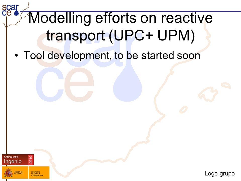 Logo grupo Modelling efforts on reactive transport (UPC+ UPM) Tool development, to be started soon