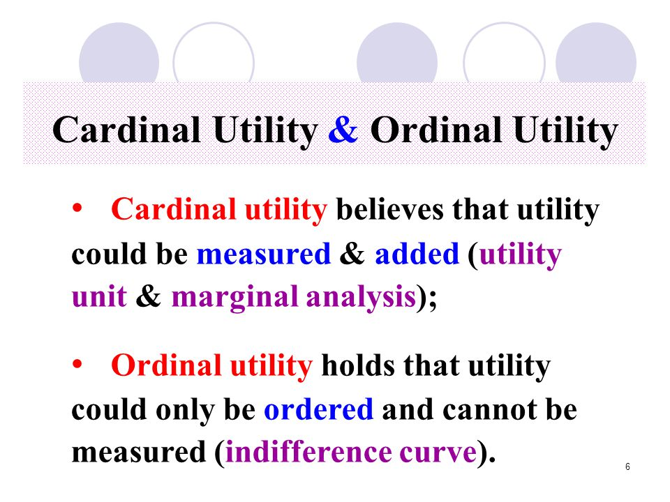 7 Cardinal utility Total & Marginal Utility Total utility (TU ) refers the degree of satisfaction from the whole consumption Total utility (TU ) refers the degree of satisfaction from the whole consumption Marginal utility ( MU ) refers the additional satisfaction from one more unit of consumption Marginal utility ( MU ) refers the additional satisfaction from one more unit of consumption