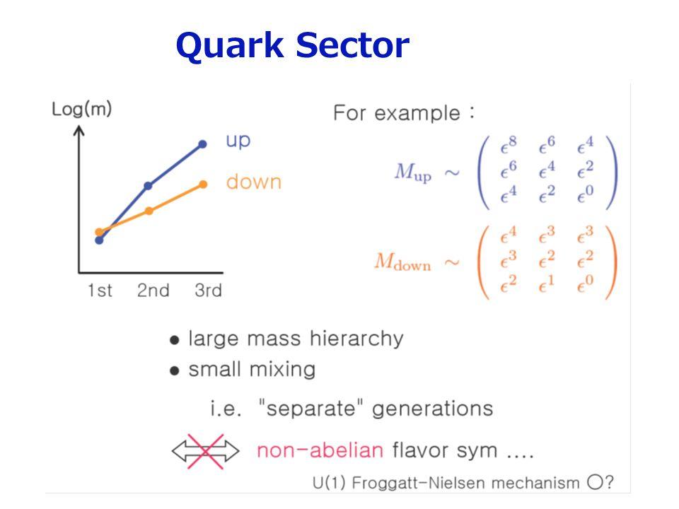 Quark Sector 7