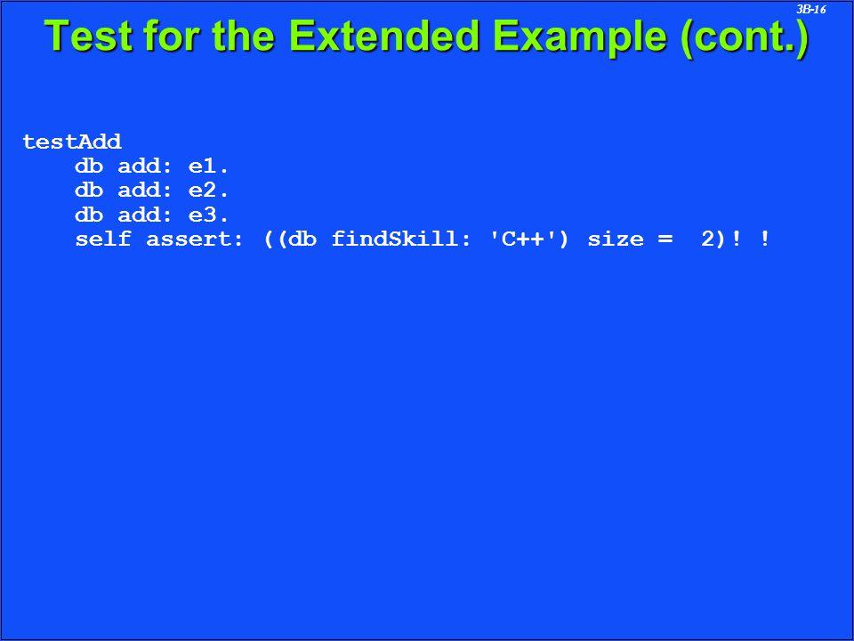 3B-16 testAdd db add: e1. db add: e2. db add: e3.