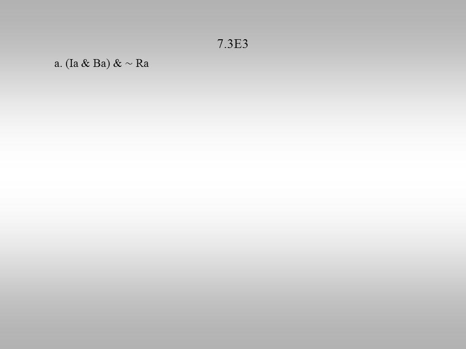 7.3E3 a. (Ia & Ba) & ∼ Ra