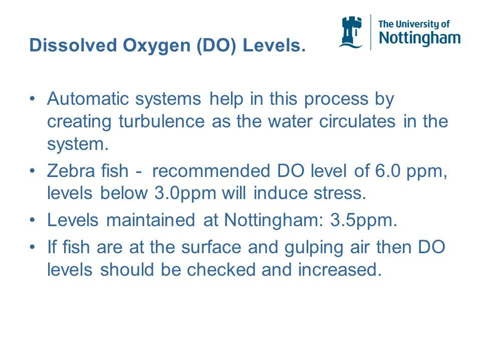 Dissolved Oxygen (DO) Levels.
