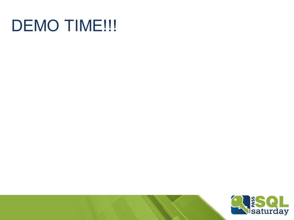 DEMO TIME!!!