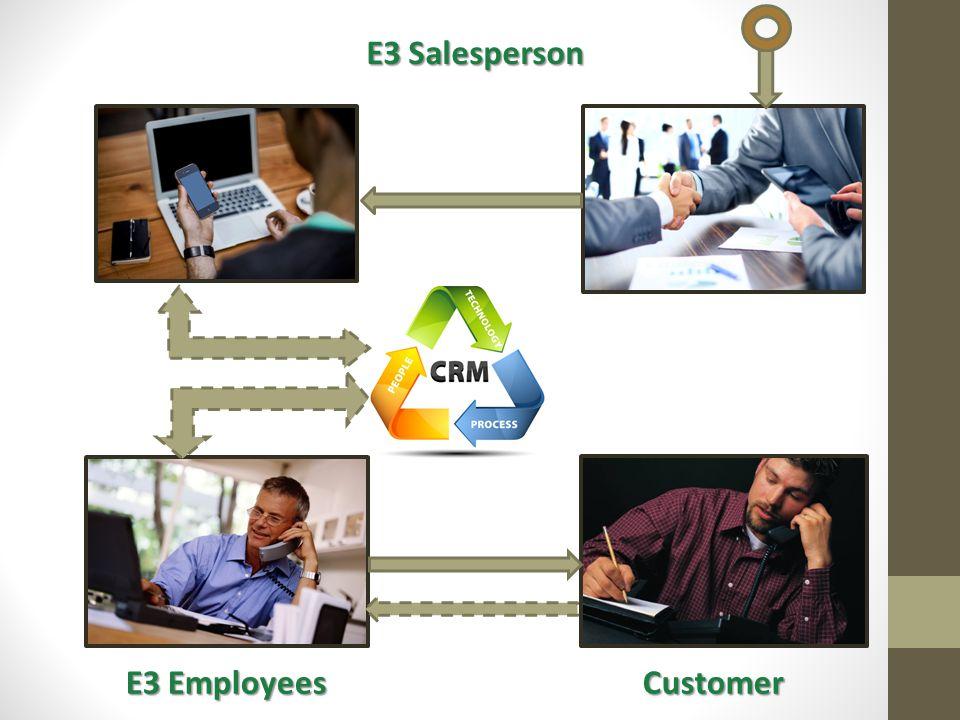 E3 Salesperson E3 Employees E3 EmployeesCustomer