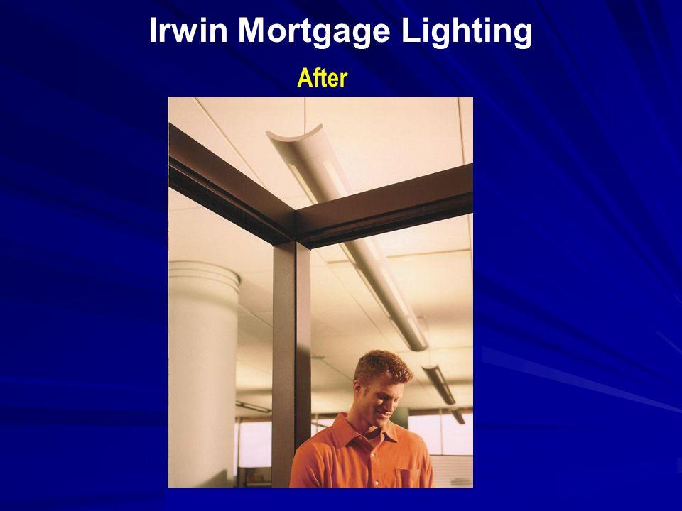 Irwin Mortgage Lighting Before