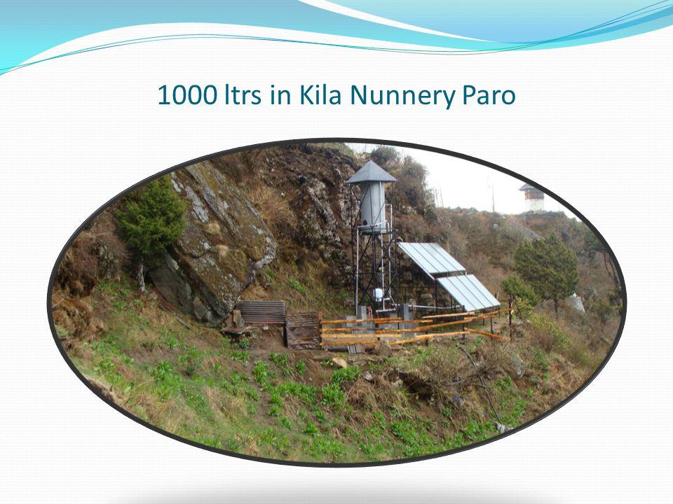 1000 ltrs in Kila Nunnery Paro