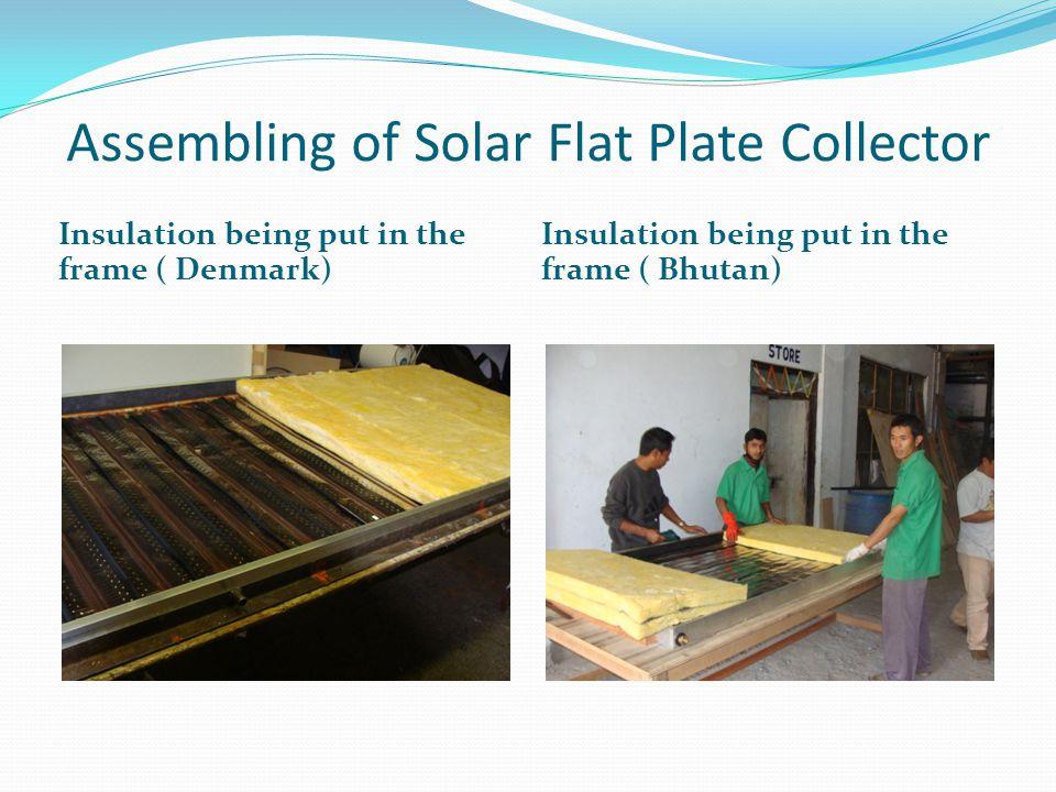 Solar Air Dryer system to dry fruits in Kathmandu