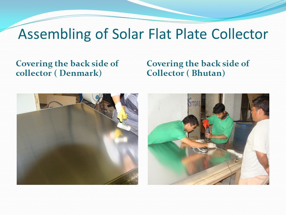 Solar dryer and Fruits being dried the traditional way
