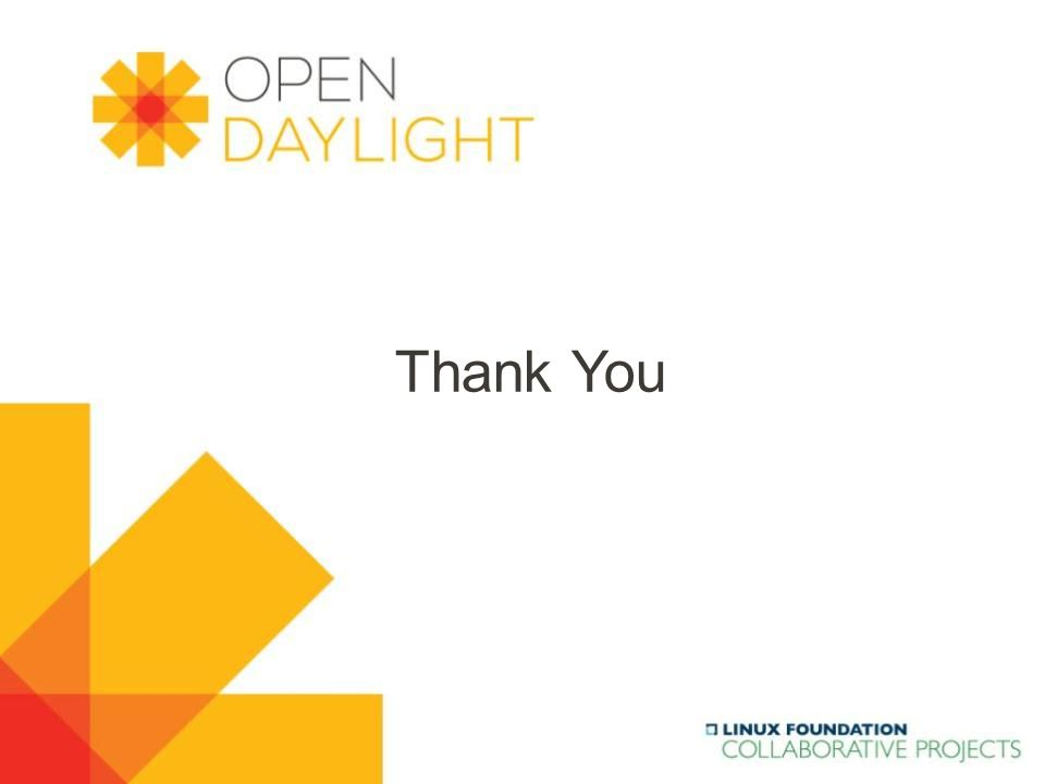 www.opendaylight.org Thank You