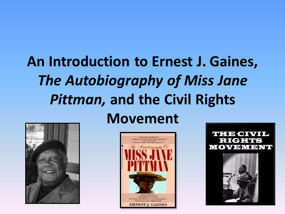 An Introduction to Ernest J.