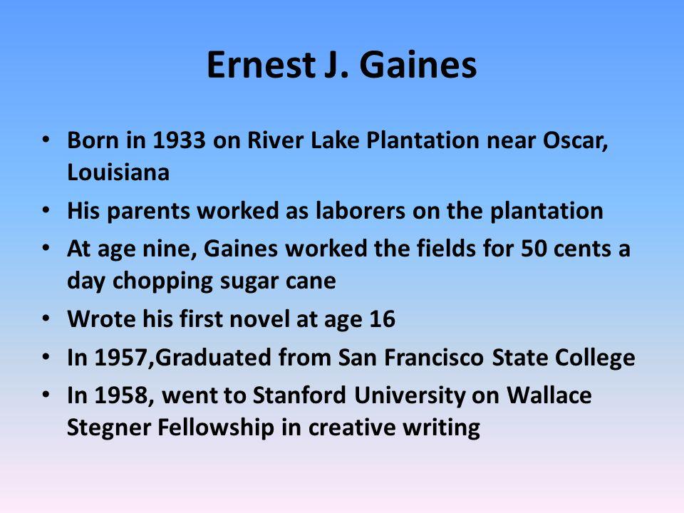 Ernest J.