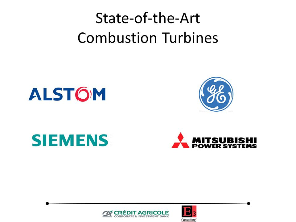 State-of-the-Art Combustion Turbines