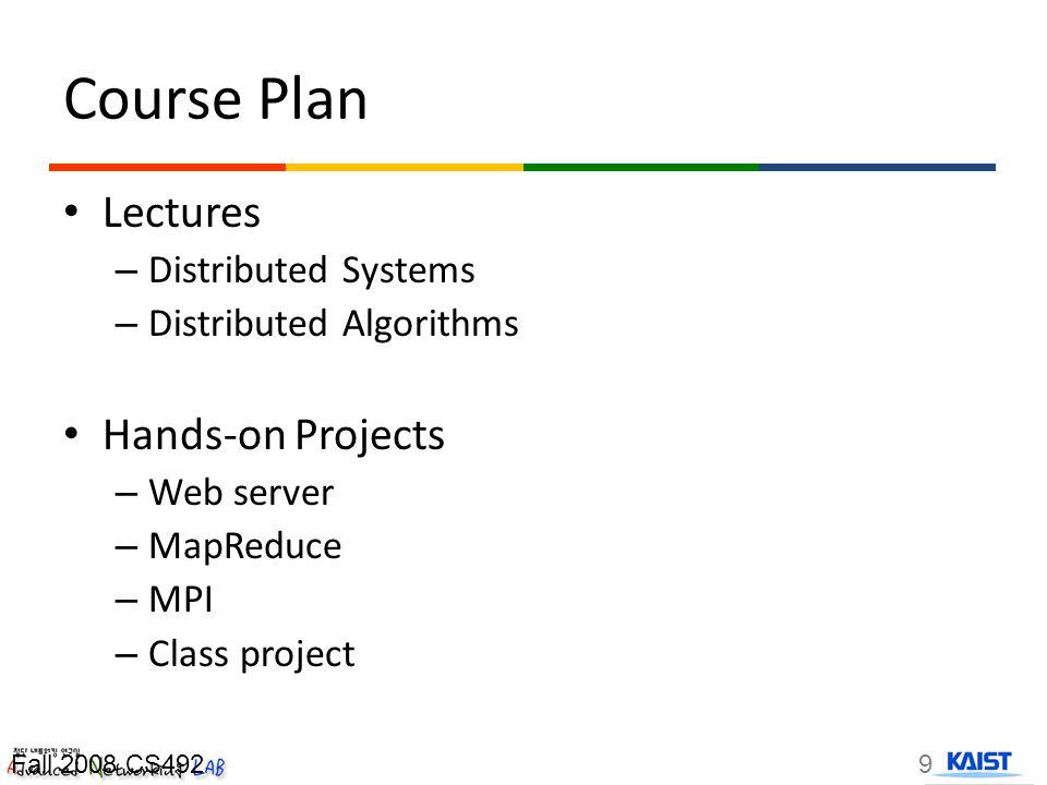 Computing Resources Dept cluster NexR cluster 10Fall 2008 CS492