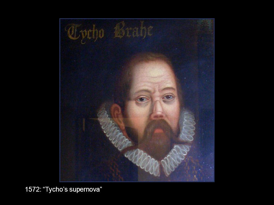 1572: Tycho's supernova