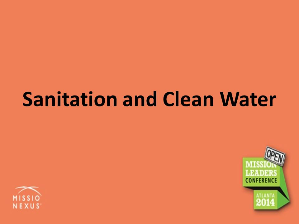 Sanitation and Clean Water