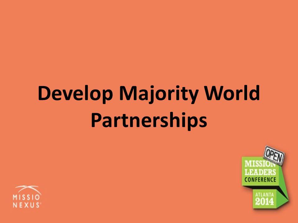 Develop Majority World Partnerships