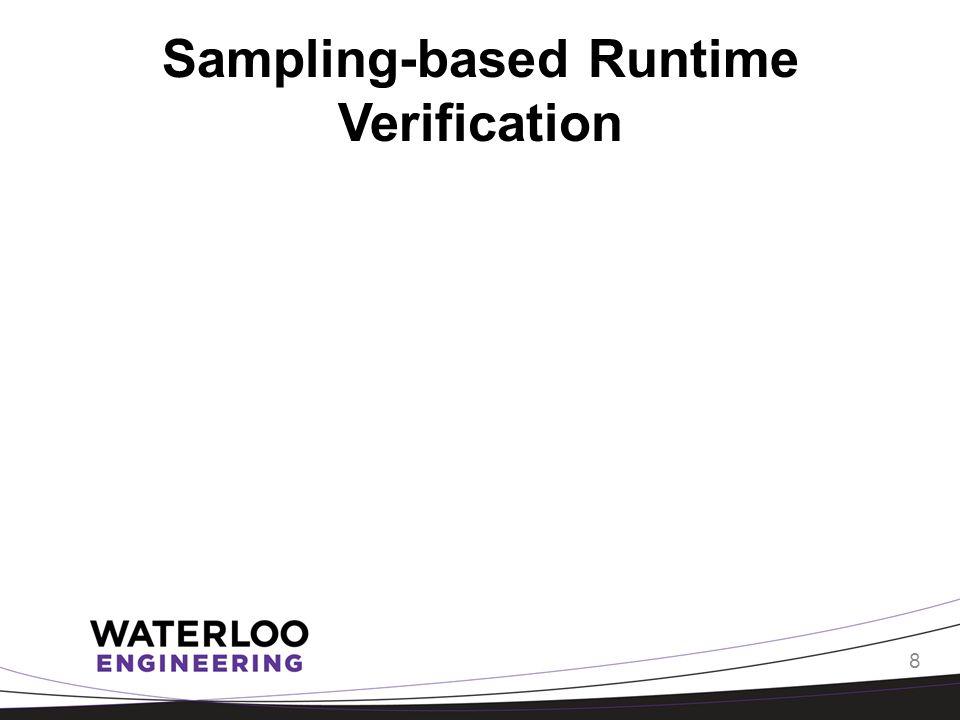 Sampling-based Runtime Verification 8