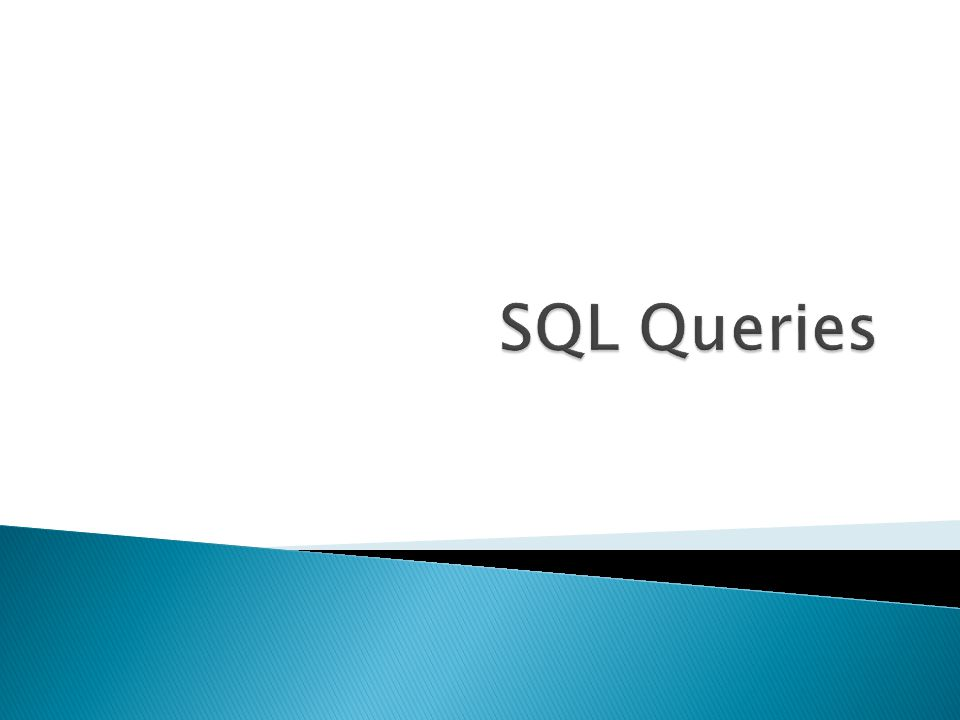  Alias ◦ created in the FROM clause and used only for the duration of the query SELECT X.sno FROM take X, take WHERE (X.sno=take.sno) AND (X.cno= CS112 ) and (take.cno= CS114 );