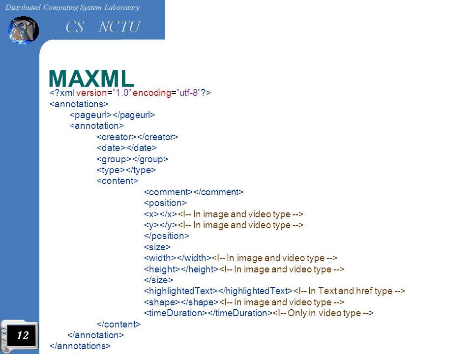 MAXML 12