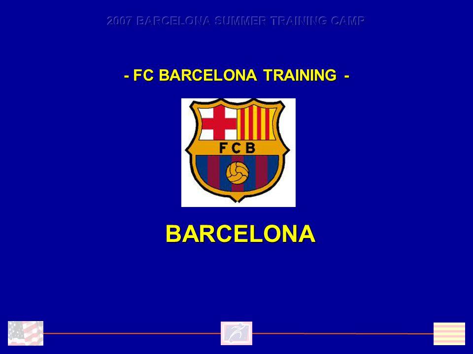 - FC BARCELONA TRAINING - BARCELONA