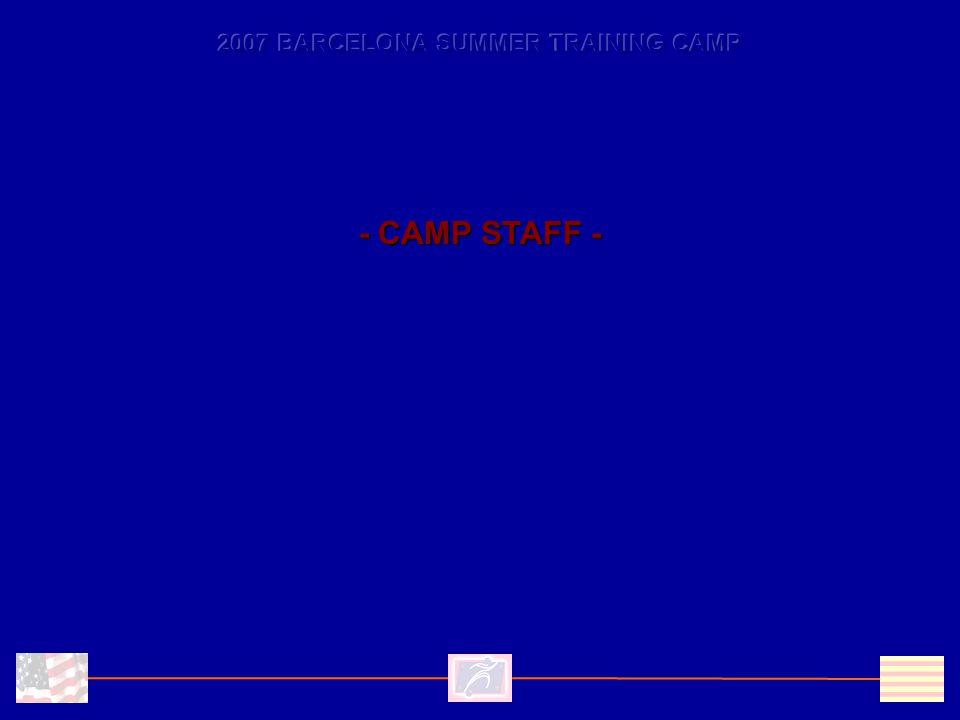 - CAMP STAFF -