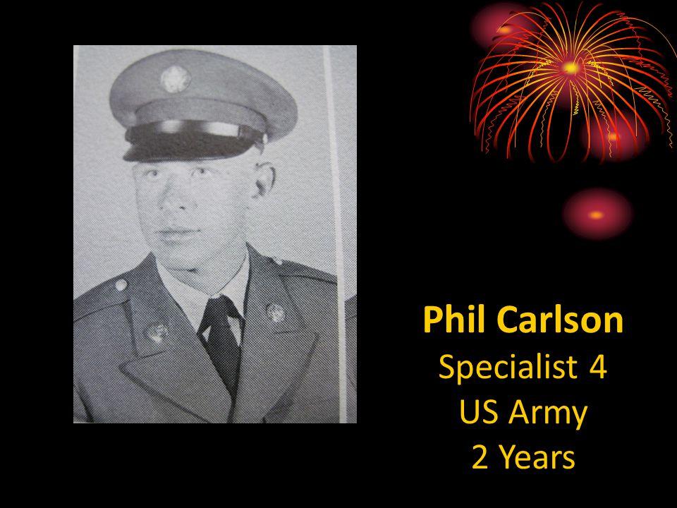 Bill Selesky Private US Marines 3 Years