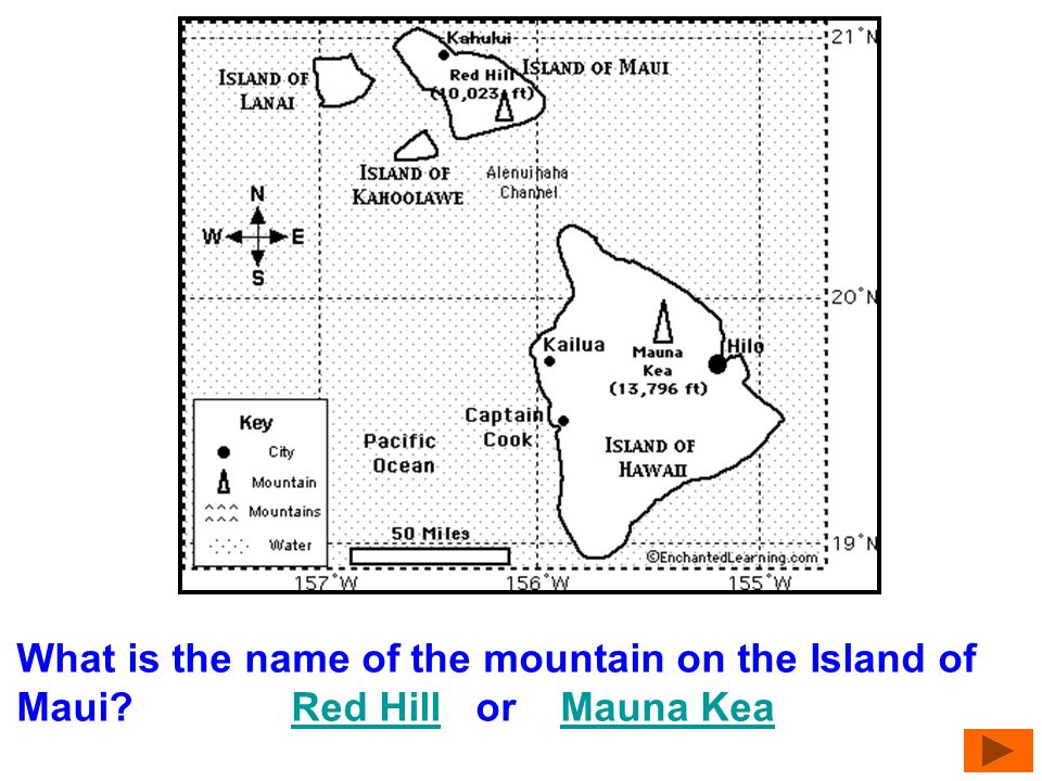 What is the name of the largest island? Island of LanaiIsland of Lanai Island of Hawaii Island of MauiIsland of Hawaii Island of Maui