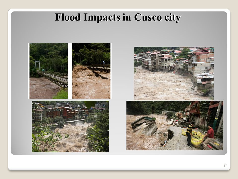 17 Flood Impacts in Cusco city