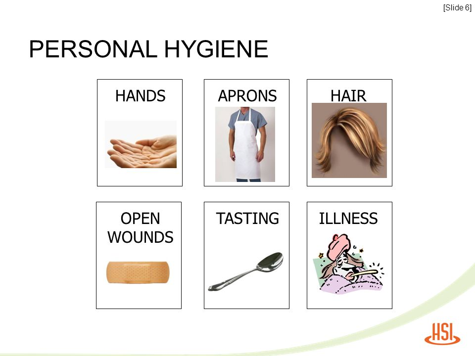 FOOD SAFETY: CLEAN HANDS [Slide 7] REMEMBER THE 20 + 20 RULE WASH 20 seconds + DRY 20 seconds = CLEAN hands