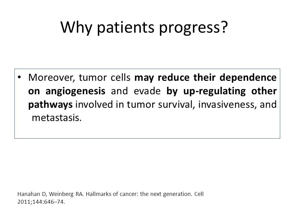 Why patients progress.