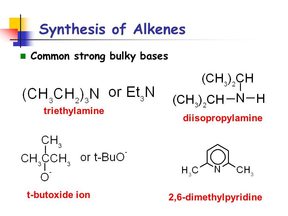 Reactions of Alkenes Addition of H-X to Alkenes