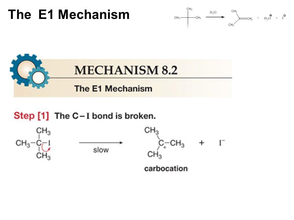 The E1 Mechanism
