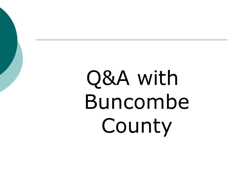 Q&A with Buncombe County