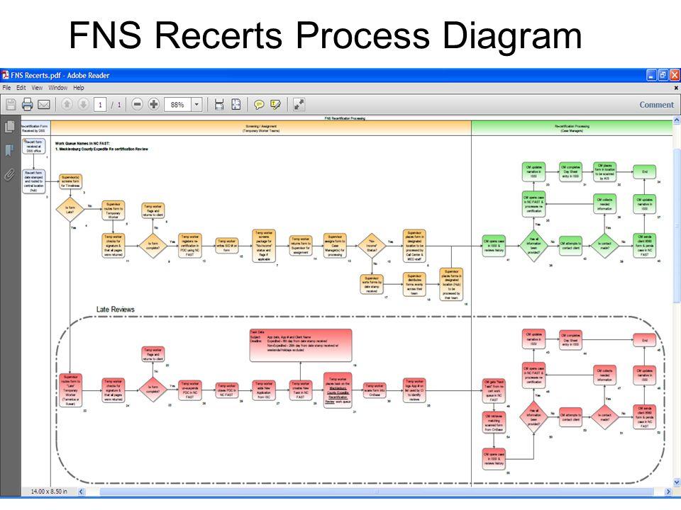 FNS Recerts Process Diagram