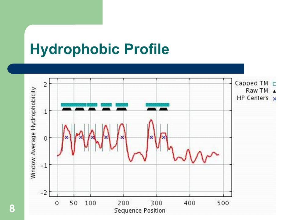 8 Hydrophobic Profile