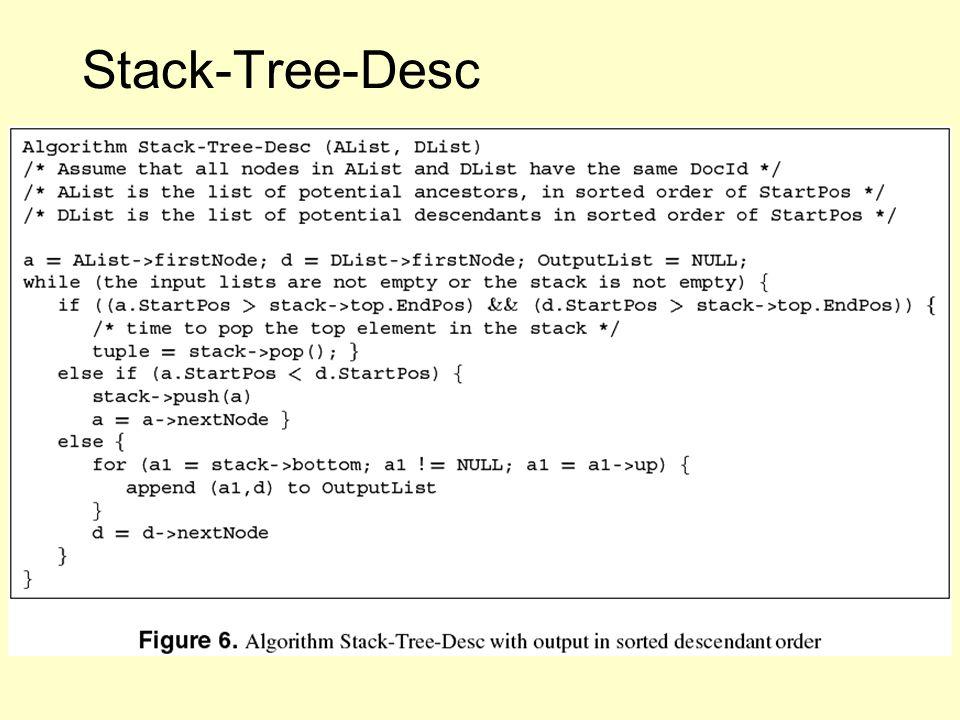 Stack-Tree-Desc