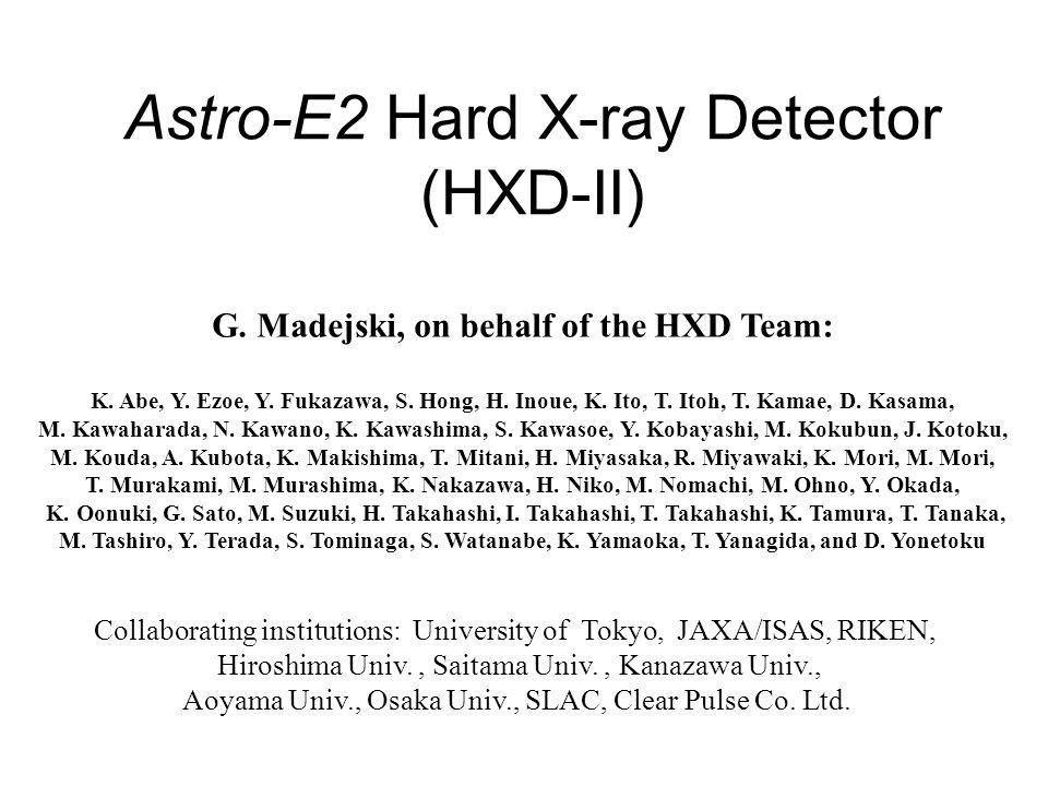 HXD team (June.30.2004 at ISAS/JAXA)