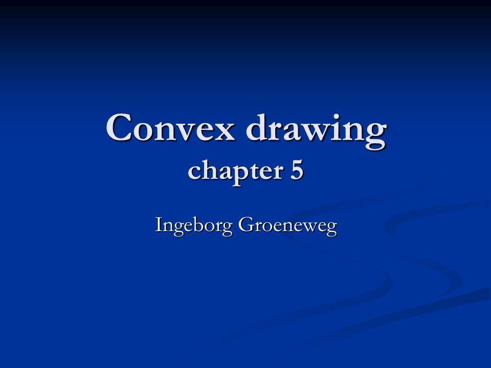 Convex drawing chapter 5 Ingeborg Groeneweg