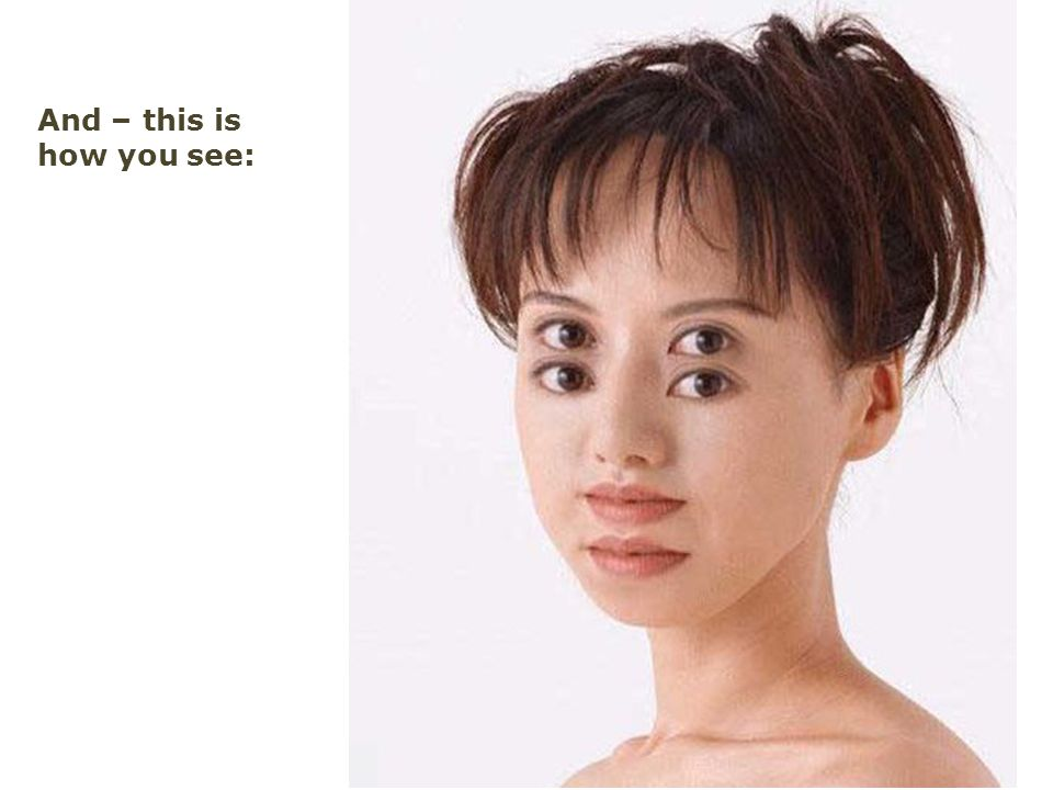 And – this is how you see: