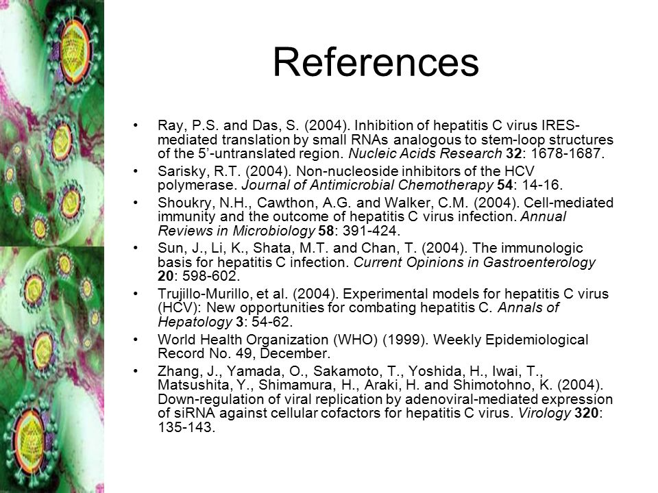 References Ray, P.S. and Das, S. (2004).