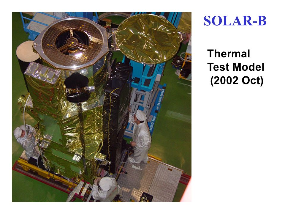 SOLAR-B Thermal Test Model (2002 Oct)