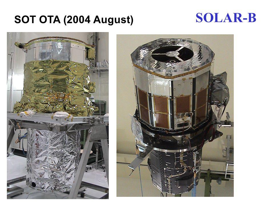 SOLAR-B SOT OTA (2004 August)