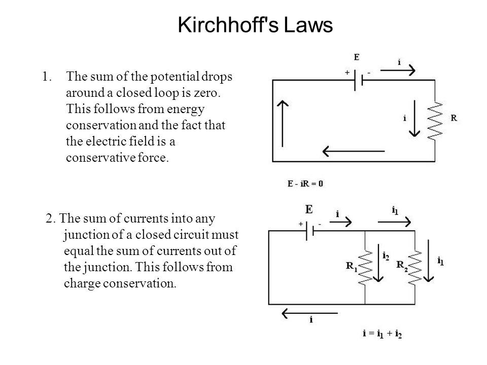 Example (Single Loop Circuit) How do we apply Kirchhoff's Rule 1.