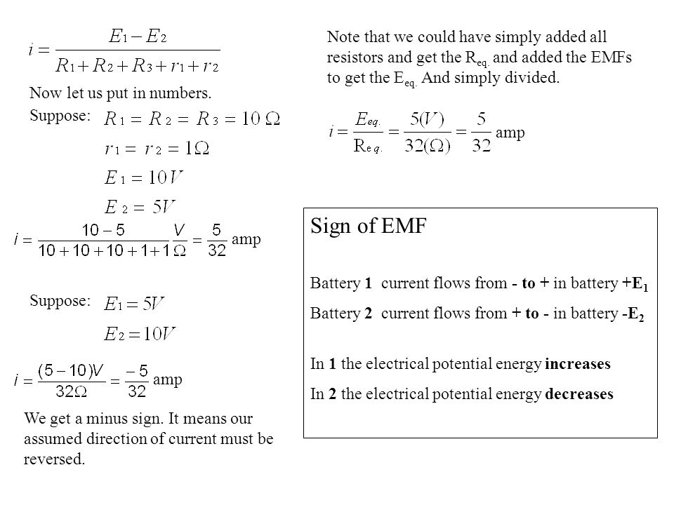 Chapter 27 Problem 27 In Figure 27-40, the resistances are R1 = 0.5, R2 = 1.7, and the ideal batteries have emfs script e1 = 2.0 V, and script e2 = script e3 = 3 V.