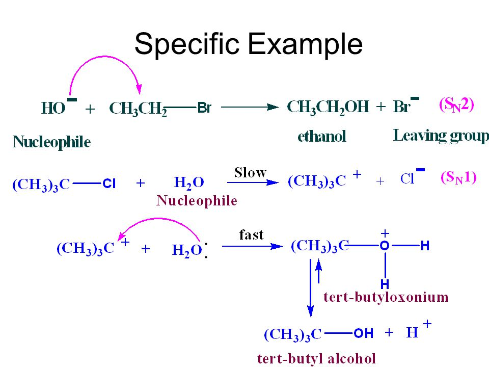 6.5 Nucleophiles [nju:kliefail] n.[ 化 ] 亲核试剂 A nucleophile is a reagent that seeks a positive center