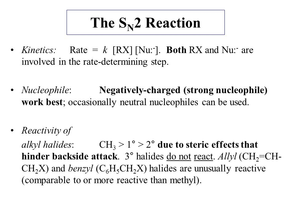 The S N 1 Reaction